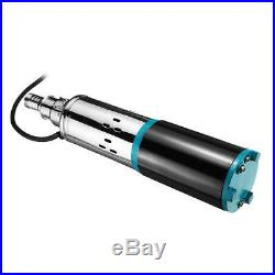 12V/24V Deep Well Pump 300W 8m3/h Solar Submersible Pump 24V