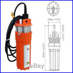 12V DC Submersible Deep Well Solar Water Pump With Filter 4 230 FT Pool Pond