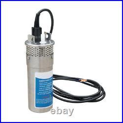 12V Deep Well Water Pump DC Stainless/S Pump, Alternative Energy Solar Battery