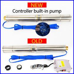 1.1KW Submersible Deep Well Pump Borehole with Control Box Heavy Duty + CABLE EU