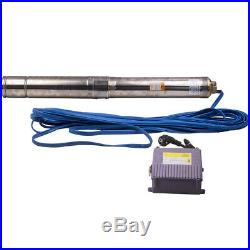 1.5HP 1.1KW Borehole Deep Well Water Submersible Pump 50Hz 220-240V New