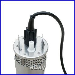 200W Solar Panel+24V Deep Well Submersible Pump +20A Controller High Efficiency