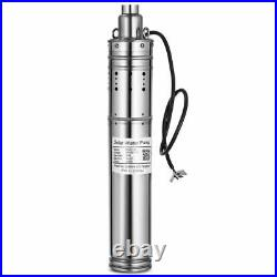 24VDC 3m3/H, 80M Lift Solar Powered Submersible Bore Hole Deep Well Water Pump