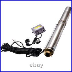 35°C 4 inch 750 W Deep Well Submersible Water Pump 4 Screw Pump 6000 L/H New