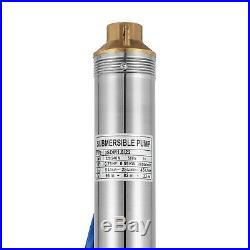 3 SDM1.8/22 Berehole Pump Deep Well Submersible Water Pump LONG LIVE + CABLE