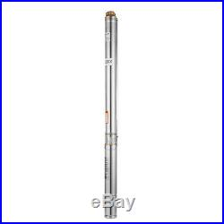 3 SDM1.8/22 Borehole Deep Well Submersible Water Pump 550W + 98.4ft CABLE