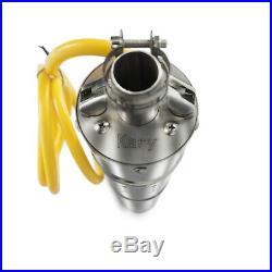 40m Solar Water DC Pump Solar Deep Well Submersible Pump 2m³/h 24V Energy UK