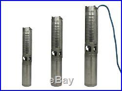 4 Inch Deep-Well Pump Grundfos Sp 2A-Serie, 2500 L/H, 24 M 198 M, 400 V