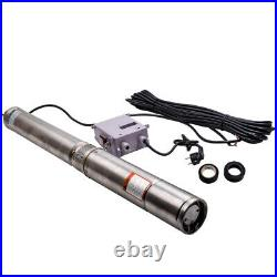 50 Hz 35°C Deep Well Submersible Pump Electric Pump 750 W 10 m Cable 2850 rpm 5A