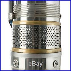 Arebos Deep Well Pump Submersible Water Pump