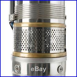 Arebos Deep Well Pump Submersible Water Pump 1.5 hp