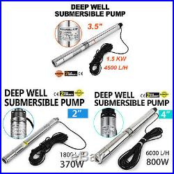 Borehole Pump Deep Well Submersible Automatic Flow Switch Control Pressure