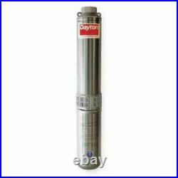 DAYTON 1LZT6 Submersible Deep Well Pump 1 1/2 hp 20 gpm 230V AC 1 Phase 14 Stage