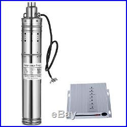 DC24V Brushless Solar Screw Deep Well Submersible Water Pump 280W, 98.4FT Max