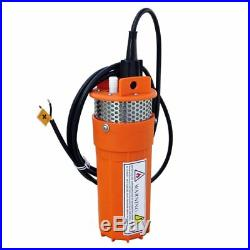 DC 12V Solar Submersible Solar Deep Well Water Pump for Farm Watering Irrigation