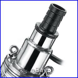 DC 24V DC 48V Lift 60M 16L/min Stainless Steel Deep Well Water Pump Submersible