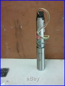 Everbilt 1 HP Submersible 3-Wire Motor 10 GPM Deep Well Potable Water Pump