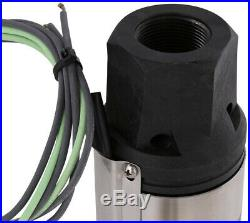 Everbilt Potable Water Pump 3/4 HP Submersible 2 Wire Motor 10 GPM Deep Well New