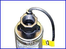 Hallmark Industries MA0419X-12A Deep Well Submersible Pump, 2 hp, 230V, 60 Hz