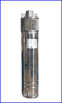 IBO 4SKM200 Submersible Deep Well Borehole Water PUMP 120m 2HP + CABLE 20m Pond