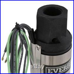 NEW! EVERBILT 1/2 HP Submersible 2-Wire Motor 10 GPM Deep Well Water Pump