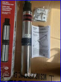 Red Lion 14942403 RL12G07-2W2V 3/4 HP 4 Submersible Deep Well Pump