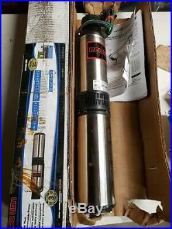 Red Lion Submersible Deep Well Pump RL12G05-2W1V-1/2 HP-12 GPM-2 Wire-115 Volt