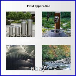 SHYLIYU Borehole Water Pump Deep Well Pump for Home 4 Inch Bore 0.5Hp 220V 42m