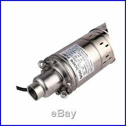 SHYLIYU Water Pump 90M Head Deep Well Screw Submersible Pump 1 inch Outlet 4