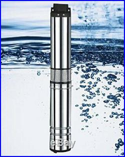 Sale! 220V Stainless steel submersible deep well pump
