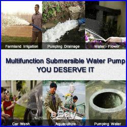 Screw Pump DC24V 250W High Flow Farm & Ranch Submersible Deep Well Water Pump