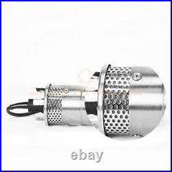 Stainless Shell Submersible 3.2GPM 4 Deep Well Water DC Pump 24V