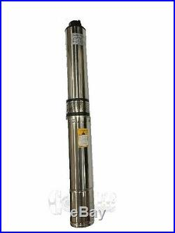 Submersible Deep Well water Pump 1/2 0.5 HP 110V Brass outlet 1 1/4 New