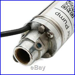 Water Pump 220V 370W 50mm Submersible Bore 0.5 HP Deep Well 220V 180ft