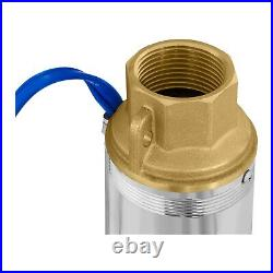Well Pump Professional Deep Well Pump Stainless Steel Tank Cistern Duct 3800 L/H